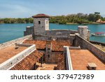 fortress castillo de san felipe ... | Shutterstock . vector #379472989