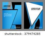 professional business flyer... | Shutterstock .eps vector #379474285