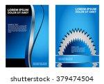 flyer  brochure or magazine... | Shutterstock .eps vector #379474504
