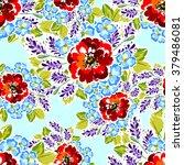 abstract elegance seamless... | Shutterstock . vector #379486081