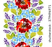 abstract elegance seamless... | Shutterstock . vector #379496971