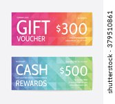 gift voucher modern template   Shutterstock .eps vector #379510861