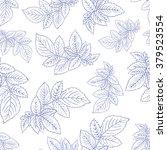 seamless floral pattern. vector ... | Shutterstock .eps vector #379523554