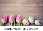 Easter. Easter Background With...