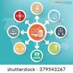 data analysis and big data...   Shutterstock .eps vector #379543267