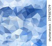 vector abstract irregular... | Shutterstock .eps vector #379587379