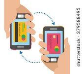 mobile payment concept. vector... | Shutterstock .eps vector #379588495