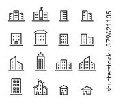 building line icon | Shutterstock vector #379621135