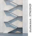 stairs leading upward ...   Shutterstock . vector #379633429