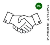 handshake | Shutterstock .eps vector #379635931