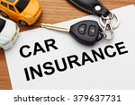 car insurance concept with car... | Shutterstock . vector #379637731