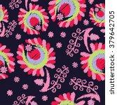 ethnic boho seamless pattern... | Shutterstock .eps vector #379642705