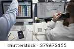 business team working... | Shutterstock . vector #379673155