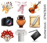 art icons detailed photo...   Shutterstock .eps vector #379678345