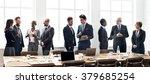 business people meeting... | Shutterstock . vector #379685254