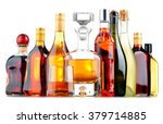 composition with bottles of... | Shutterstock . vector #379714885