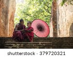 Little Myanmar Monk Reading...