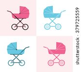 baby carriage. pram icon....   Shutterstock .eps vector #379725559