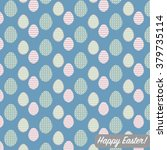 cool easter background or... | Shutterstock .eps vector #379735114