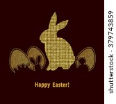 Elegant Easter Background With...