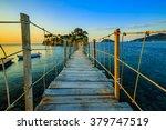 sunrise over the bridge to... | Shutterstock . vector #379747519