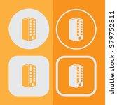 building icon set | Shutterstock .eps vector #379752811