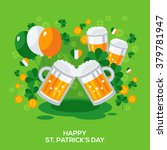 Saint Patricks Day Banner With...