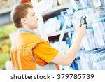 hardware store salesman worker...
