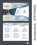 abstract three fold brochure...   Shutterstock .eps vector #379795441