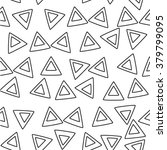 black and white geometric... | Shutterstock .eps vector #379799095