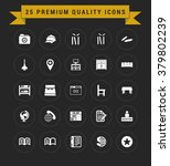 25 premium quality icon set.... | Shutterstock .eps vector #379802239
