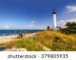lighthouse on the florida beach ... | Shutterstock . vector #379805935