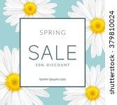 bright spring sale design.... | Shutterstock .eps vector #379810024