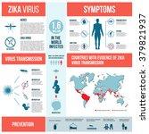 zika virus infographics with... | Shutterstock .eps vector #379821937