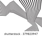 black and white mobious wave...   Shutterstock .eps vector #379823947