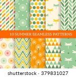 ten retro different summer... | Shutterstock .eps vector #379831027