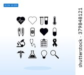 medical icons | Shutterstock .eps vector #379848121