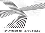 black and white mobious wave... | Shutterstock .eps vector #379854661