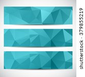 abstract geometric background... | Shutterstock .eps vector #379855219