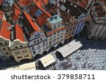 Aerial View Of Old Town Square...
