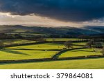 Farmland And Coutryside With...
