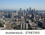 seattle center is a fairground  ... | Shutterstock . vector #37987393
