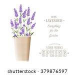 lavender sign label | Shutterstock .eps vector #379876597