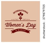 8th march   international women'... | Shutterstock .eps vector #379879705