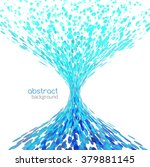 abstract funnel tornado... | Shutterstock .eps vector #379881145