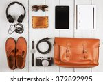 travel concept   tablet pc ...   Shutterstock . vector #379892995