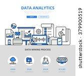 data analytics report mining... | Shutterstock .eps vector #379900519