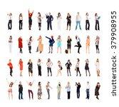 workforce concept corporate... | Shutterstock . vector #379908955