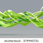 vector abstract polygonal... | Shutterstock .eps vector #379940731