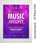 creative shiny flyer  banner or ... | Shutterstock .eps vector #379961704